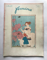 Femina Revue (novembre 1920) Couv. Illustrée G. Barbier G. Wegener MODE COSTUME - Art