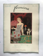 Femina Revue (novembre 1920) Couv. Illustrée Par G. Barbier MODE COSTUME - Art