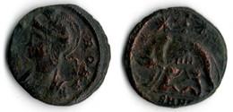VILLE DE ROME Bronze LA LOUVE ALLAITANT ROMULUS ET REMUS - 7. El Impero Christiano (307 / 363)
