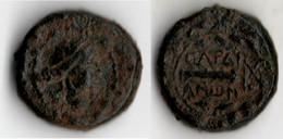 SARDES Bronze MASSUE DANS UNE COURONNE - Grecques