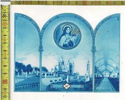 Kl 1729 - Relique - Relikwie - ETOFFE AYANT ENVELOPPE LES OSSEMENTS DE STE THERESE DE LENFANT JESUS - Images Religieuses