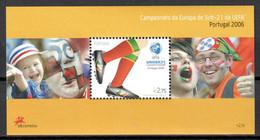Portugal 2006 / UEFA European Football Under 21 Championship MNH Campeonato Europeo De Fútbol Sub 21 / Cu18729  5-8 - Eurocopa (UEFA)