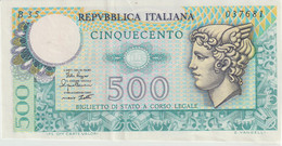 6-Banconote Da L500 Q.F.D.S. - 10000 Lire