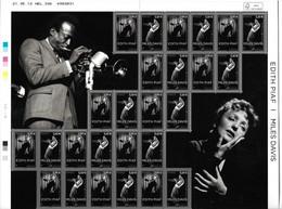 France 2012 - F4671 Feuillet Miles Davis Et Edith Piaf - Neuf - Nuovi