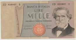 10-Banconota Da L. 1000 Verdi-Q.F.D.S. - 10000 Lire