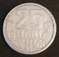 MOLDAVIE - MOLDAVIA - 25 BANI 1993 - KM 3 - Moldova