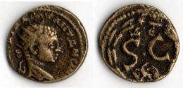 HELAGABALE (218 222à Bronze ANTIOCHE - 3. Provinces Et Ateliers