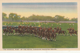 The Musical Ride Of The Royal Canadian Mounted Police - Police - Gendarmerie