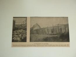 """Origineel Knipsel ( E 456 ) Uit Tijdschrift """" Ons Volk """" 1922 :  Brand  Wetteren - Sin Clasificación"""