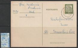 """1962 -  BRD  - POSTKARTE /  Ganzsache """" Albrecht Dürer"""" 10 Pfg.dkl'grünoliv  - O Gestempelt - S. Scan  (gs 350   Brd) - Cartes Postales - Oblitérées"""