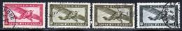 Indochine PA 1933 Yvert 8 - 8A - 10 - 11 (o) B Oblitere(s) - Posta Aerea
