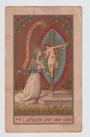 IMAGE PIEUSE / HEILIG PRENTJE  =  STe LUTGARDE PRIEZ POUR NOUS   - CROMOLITHO   10 X 6 CM - Devotion Images