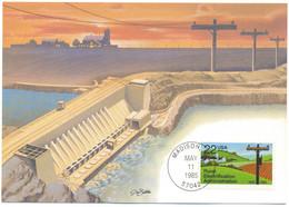 MAX 11 - 191 Rural Electrification Administration - U.S.A. - Maximum Card - 1985 - Elettricità