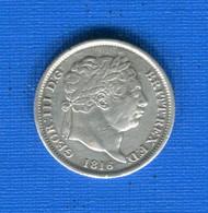 G.b  Shilling  1816  Georges 3 - I. 1 Shilling