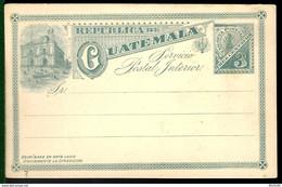 ENTIER POSTAL / GANZSACHE / POSTAL STATIONERY - DE GUATEMALA -1910 - Guatemala