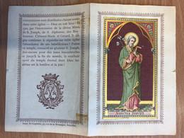 Sanctus Joseph (Peres Rédemptoristes) Bruxelles Quartier Leopold 1899 Souvenir Des Fêtes Jubilaires 50 Imp. St Augustin, - Godsdienst & Esoterisme