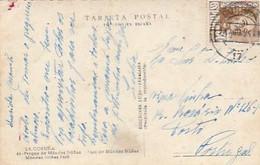 Spain & Circulado, La Coruña, Parque De Mendez Muñez A  Porto Portugal 1955 (44) - 1951-60 Cartas
