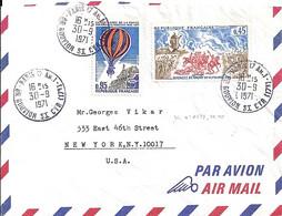 75 - PARIS 17 AN.1 / BD GOUVION ST CYR - 1971 - TaD DE TYPE A9 - Manual Postmarks