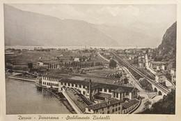 Cartolina - Dervio - Panorama - Stabilimento Badaelli - 1935 Ca. - Lecco