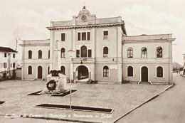 Cartolina - S. Stino Di Livenza - Municipio E Monumento Ai Caduti - 1968 - Venezia