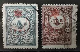 TURQUIE - 1915 N° 219 + 227 O (voir Scan) - Usati