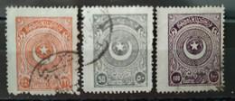 TURQUIE - 1923 N° 682 684/685 O (voir Scan) - Usati