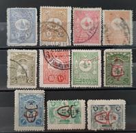 TURQUIE - 1901/1913 Lot De 11 Timbres (voir Détail Et Scan) - Non Classificati
