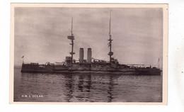 LOT CPA NAVIRE DE GUERRE H.M.S. HMS  OCEAN - Guerra