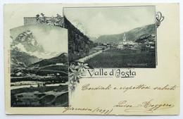 VALLE D'AOSTA - Vedutine (Al Cervino Dal Breuil ; Valtournenche) - Altre Città