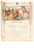 BELGIQUE TELEGRAMMES INVITES SURPRISES - Telegraph