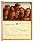 BELGIQUE TELEGRAMMES AGNEAU YSTIQUE DES FRERES VAN EYCK - Telegraph