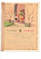 BELGIQUE TELEGRAMMES ENFANTS A LA PORTE - Telegraph