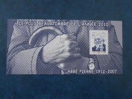 FRANCE BLOC SOUVENIR 66 ABBE PIERRE** - Souvenir Blokken