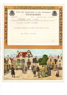 BELGIQUE TELEGRAMME SORTIE DES MARIES - Telegraph