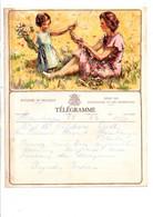 BELGIQUE TELEGRAMME CUEILLETTE FLORALE - Telegraph