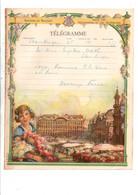 BELGIQUE TELEGRAMME LA GRAND PLACE - Telegraph