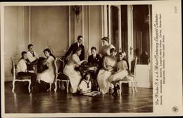 CPA Kinder Von Erzherzog Leopold Salvator Von Österreich Toskana - Royal Families