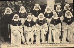 CPA L'Inde Des Rajas, Premières Missionnaires Franciscaines De St. Marie Des Anges - Non Classificati