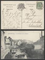 Carte Postale - Bouffioulx : Le Ruisseau De La Biesme - Chatelet