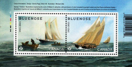 Canada - 2021 - Centenary Of Bluenose, Famous Canadian Sailing Vessel - Mint Souvenir Sheet - Nuovi