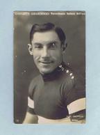 CPA Cyclisme Fot. CAPPELLI, Costante GIRARDENGO, Recordman Italiano Dell'ora. Édition A. TRALDI - Ciclismo