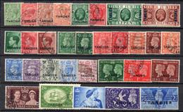 MAROCCO Inglese 1926/50 Ufficio Postale Di TANGERI N. 31 Francobolli Differenti - Collezioni (senza Album)