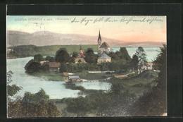 AK Maria Wörth A. See, Kirche Auf Der Insel - Zonder Classificatie