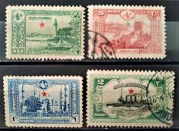 TURQUIE - 1914 N° 194/196 + 198 (voir Scan) - Nuovi