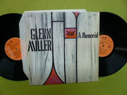 Glenn Miller - 2 LP 33t Vinyles - A Memorial Glenn Miller - 1944 -1969 - VG/VG - Jazz