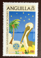 Anguilla 2005 Rotary Only Birds From Set MNH - Non Classificati