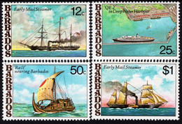 Barbados - 1979 - Ships - Mint Stamp Set - Nuovi