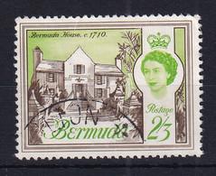 Bermuda: 1962/68   QE II - Buildings    SG175   2/3d   Used - Bermuda