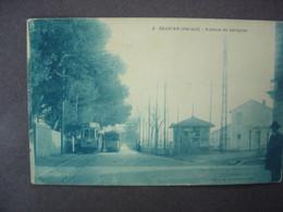 34 - SAUVIAN - Avenue De Sérignan - Gare Du Tramway - Altri Comuni