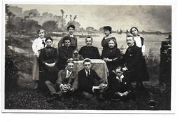 Fotokaart Bornem-Temse - Familieportret. - Bornem